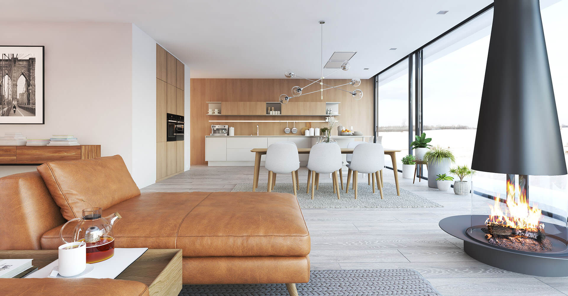 minimalismus als lebensstil kannst du minimalistisch wohnen. Black Bedroom Furniture Sets. Home Design Ideas