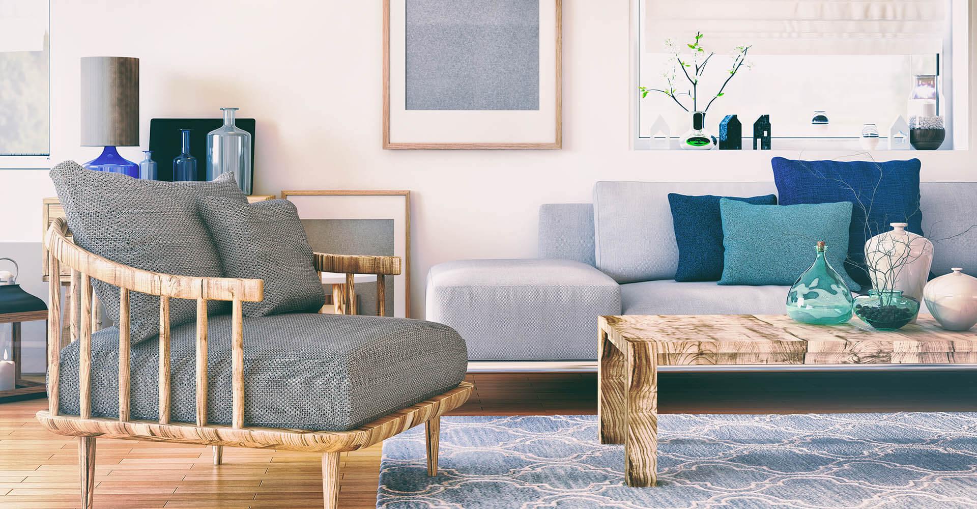 Wohnzimmer gemütlich einrichten - 8 schnell umsetzbare Tipps