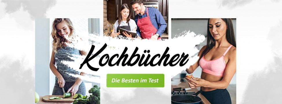 Die besten Kochbücher im Test - Banner