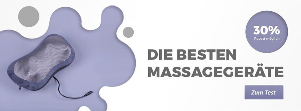 Die besten Massagegeräte im Test