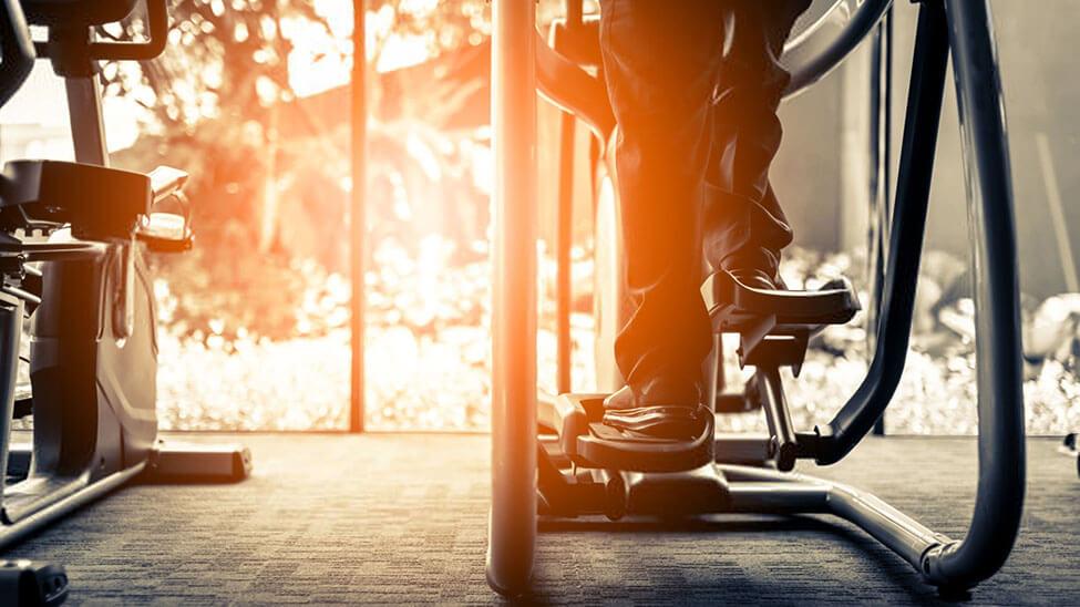 Stepper als Cardiogerät für Zuhause