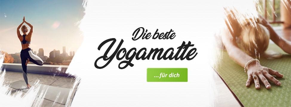 Yogamatten im Test - Banner