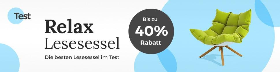 Lesesessel im Test - Banner