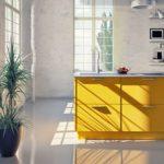 Küche im Bauhaus-Stil