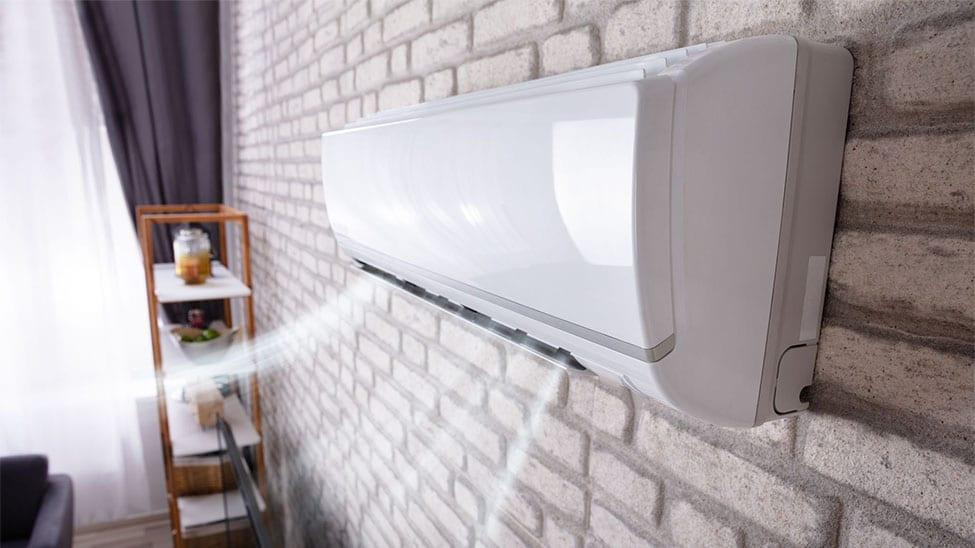 Klimaanlage für Zuhause an Wand