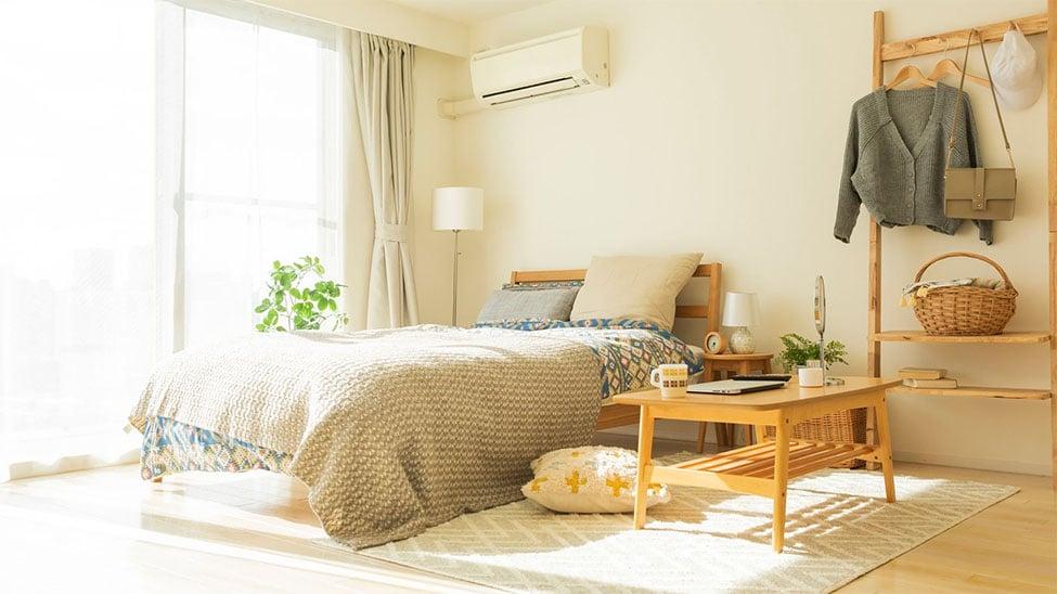 Klimaanlage für Zuhause in Schlafzimmer