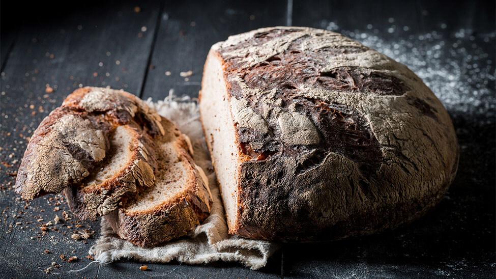 Brot aus Brotbackautomat