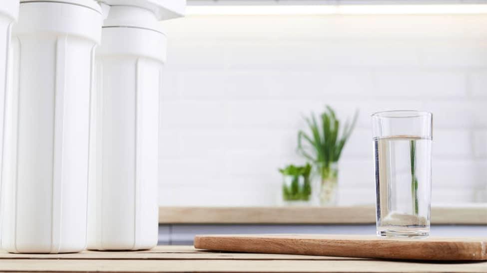 Entkalkungsanlage in Küche