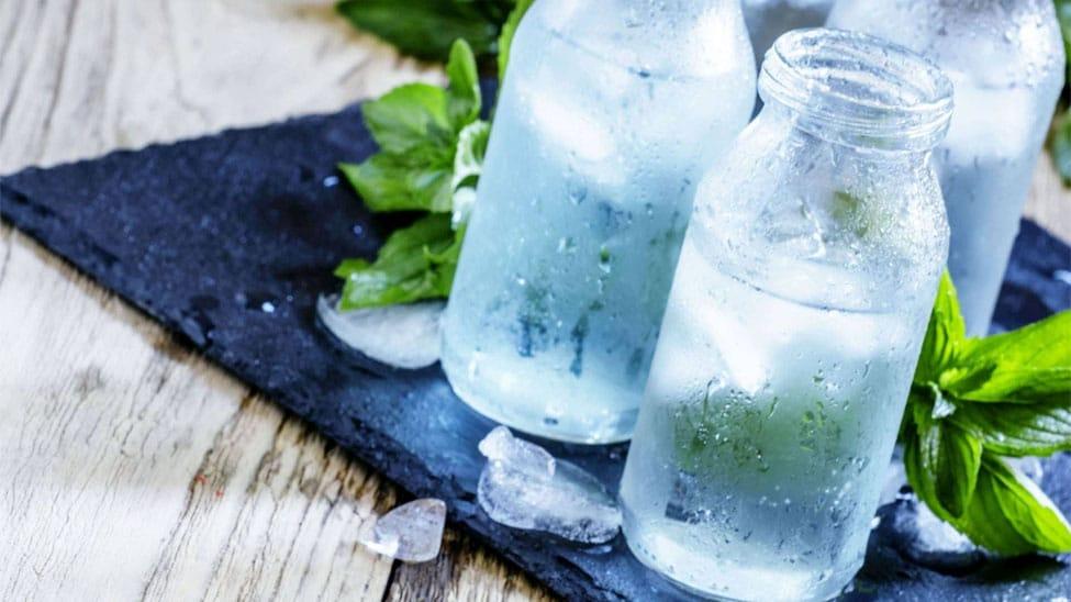 Wasser aus Entkalkungsanlage