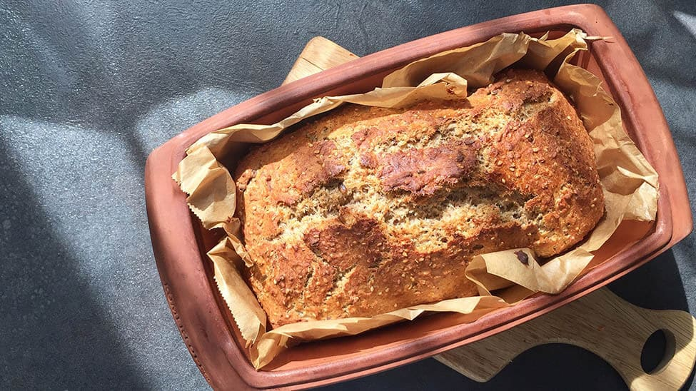 Brot in Brottopf