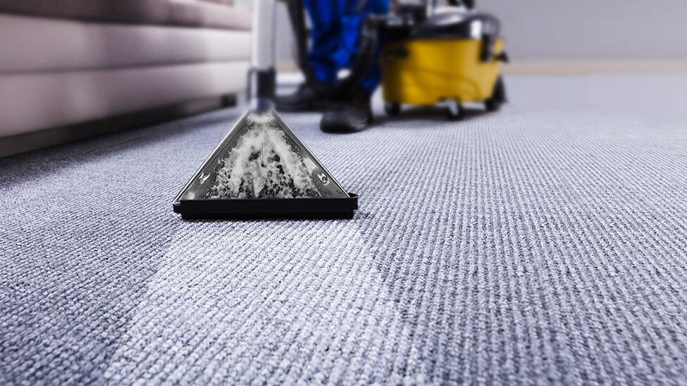 Industrieller Teppichreiniger