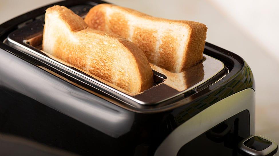 Schwarzer Toaster
