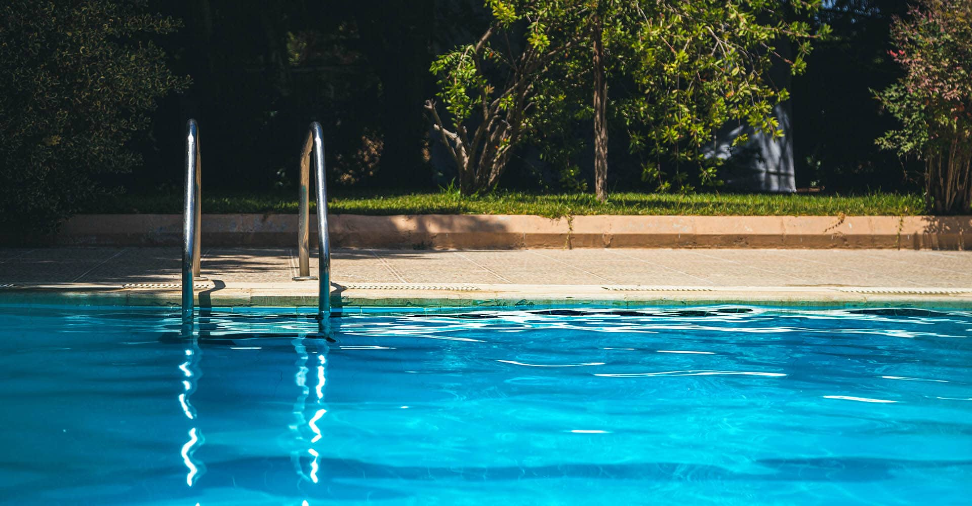 Pool mit Solarheizung