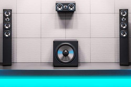 Wohnzimmer Lautsprecher System