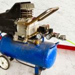 Fahrbarer Akku Kompressor