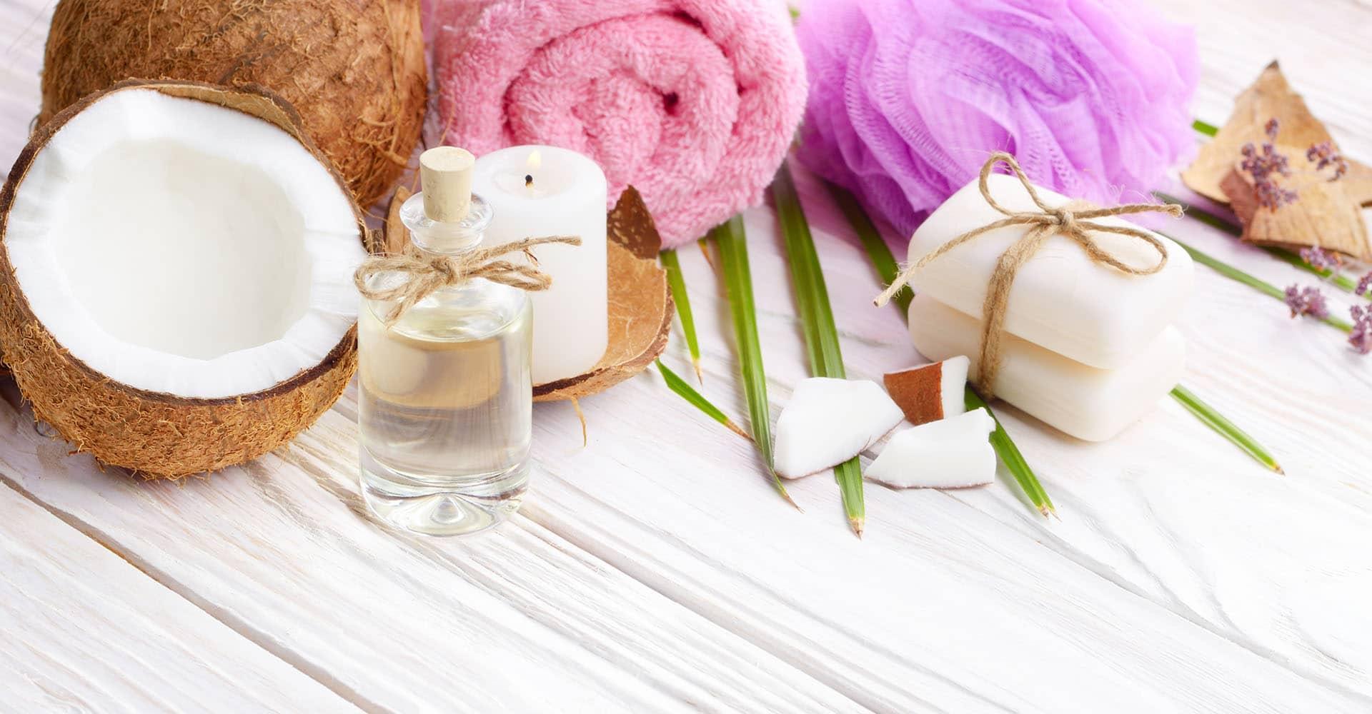 Kokosöl für Wellness