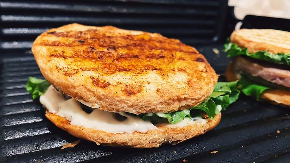Sandwich-Brot mit Salat